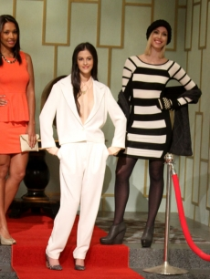 Access Hollywood Live fashion show