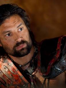 Crixus (Manu Bennett) in 'Spartacus: War of the Damned'