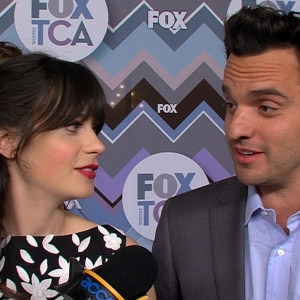 Zooey Deschanel &amp; Jake Johnson Talk New Girl: When Will Nick &amp; Jess Get Together?