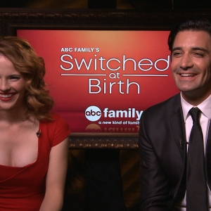 Katie Leclerc & Gilles Marini Talk ABC Family's Switched At Birth