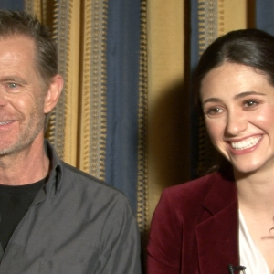 Emmy Rossum & William H. Macy Talk Frank's Shameless Haircut & Fiona's Season 3 Love Life