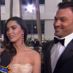 Golden Globes 2013: Megan Fox & Brian Austin Green Dish On Parenting & Quitting Twitter