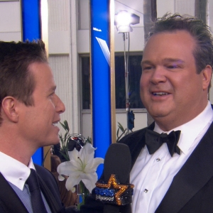 Golden Globes 2013: Eric Stonestreet Learns From His Past Globes Mistakes & Jokes About Running Into Charlize Theron