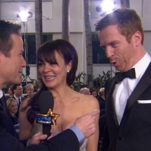 Golden Globes 2013: Damian Lewis Has A Laugh Over Saturday Night Live Homeland Parody