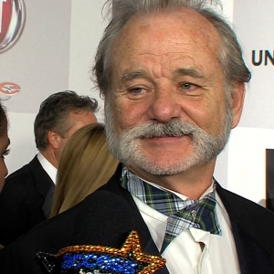 Golden Globes 2013 NBC Universal After Party: Bill Murray Reacts To Jodie Foster's Speech
