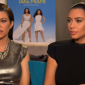 Kourtney Kardashian & Kim Kardashian Discuss 'Hurtful' Tabloid Stories