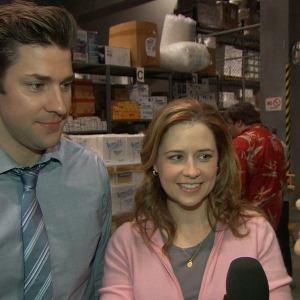John Krasinski & Jenna Fischer: What Souvenirs Will They Take From The Office?