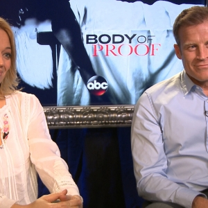 Jeri Ryan & Mark Valley Dishes On Body Of Proof Season 3