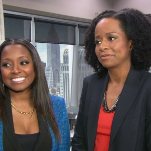 Tempest Bledsoe & Keisha Knight Pulliam Talk Reuniting On NBC's Guys With Kids