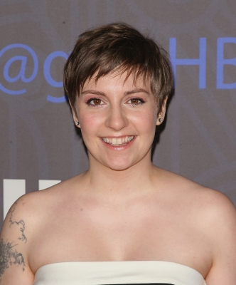 Lena Dunham attends Cinema Society presents the world premiere of 'Girls' season 2 at NYU Skirball Center in New York City on January 9, 2013