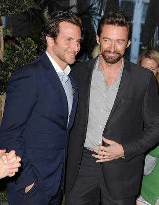  Bradley Cooper and Hugh Jackman arrives at the BAFTA Los Angeles 2013 Awards Season Tea Party at Four Seasons Hotel Los Angeles at Beverly Hills on January 12, 2013