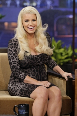 Jessica Simpson appears on 'The Tonight Show' on January 15, 2013