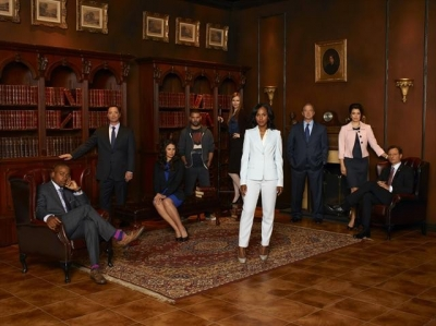 The cast of ABC's 'Scandal'