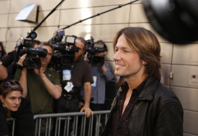 Keith Urban arrives at the New York auditions of &#8216;American Idol,&#8217; Season 12