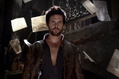 Tom Riley as Leonardo da Vinci in 'Da Vinci's Demons'