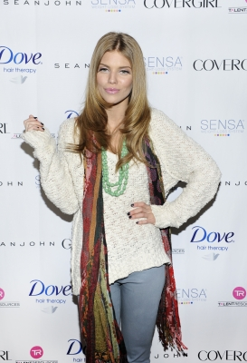 Annalynne Mccord attends the TR Suites Daytime Lounge - Day 2 on January 19, 2013 in Park City, Utah
