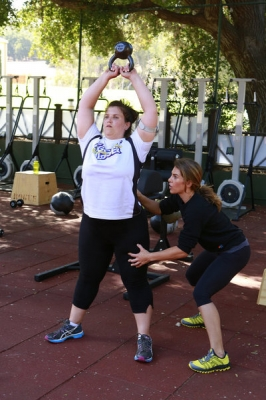 "Dannielle ""Danni"" Allen and Jillian Michaels on 'The Biggest Loser'"