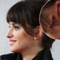 Penelope Cruz, wearing a Chanel Vintage dress and (four acupuncture needles!) , attends &#8216;Venuto Al Mondo&#8217; (Volver A Nacer) premiere at Capitol cinema on January 10, 2013 in Madrid