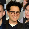 Dominic Monaghan, J.J. Abrams, Emilie de Ravin