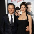 Jeremy Renner and Gemma Arterton arrive for the Los Angeles premiere of Paramount Pictures' 'Hansel And Gretel Witch Hunters' at TCL Chinese Theatre on January 24, 2013 in Hollywood, Calif.