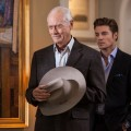 Larry Hagman and Josh Henderson in 'Dallas'