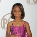 Quvenzhane Wallis arrives at the 24th Annual Producers Guild Awards at The Beverly Hilton Hotel on January 26, 2013 in Beverly Hills, Calif.