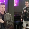 Jack Wagner on the set of 'General Hospital as Frisco Jones
