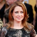 Jenna Fischer attends the 19th Annual Screen Actors Guild Awards at The Shrine Auditorium on January 27, 2013