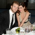 Cutter Dykstra and Jamie-Lynn Sigler attend The Art of Elysium&#8217;s 6th Annual HEAVEN Gala presented by Audi at 2nd Street Tunnel, Los Angeles, on January 12, 2013