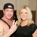 Michael Lohan and Kate Major attend Celebrity Boxing 16 January 15, 2010 in Essington, Pennsylvania