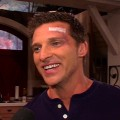 Steve Burton on the set of 'The Young and The Restless'