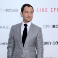 Jude Law attends the premiere of 'Side Effects' hosted by Open Road with The Cinema Society and Michael Kors at AMC Lincoln Square Theater on January 31, 2013