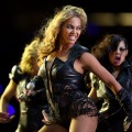 Beyonce performs during the Pepsi Super Bowl XLVII Halftime Show at the Mercedes-Benz Superdome on February 3, 2013 in New Orleans