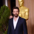Hugh Jackman attends the 85th Academy Awards Nominees Luncheon at The Beverly Hilton Hotel on February 4, 2013