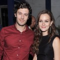 Adam Brody and Leighton Meester attend the after party for The Cinema Society screening of 'The Oranges' on September 14, 2012 in New York City