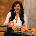 Mercedes 'MJ' Javid stops by Access Hollywood Live on February 6, 2013