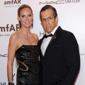 Designer Kenneth Cole and Heidi Klum
