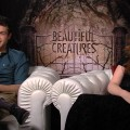 Alden Ehrenreich & Alice Englert Talk Beautiful Creatures