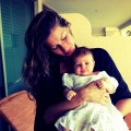 Gisele Bundchen and baby Vivian Lake