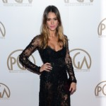 Jessica Alba arrives at the 24th Annual Producers Guild Awards held at The Beverly Hilton Hotel on January 26, 2013 in Beverly Hills, Calif