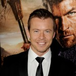 Todd Lasance arrives at the premiere of Starz's 'Spartacus: War Of The Damned' at the Regal Cinemas L.A. Live, Los Angeles, on January 22, 2013