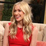 Kristin Cavallari stops by Access Hollywood Live on February 5, 2013