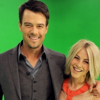 Josh Duhamel and Julianne Hough pose at A Night with Nicholas Sparks' Safe Haven: Filmmakers, Author and Stars Bring The Book To Life at Castle Studios on January 17, 2013 in Burbank, Calif.