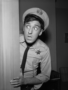Jim Nabors as Gomer Pyle in April 1963