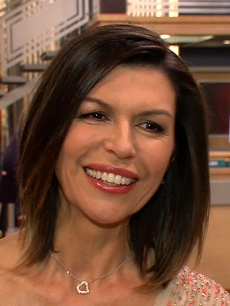 Finola Hughes speaks with Access Hollywood on the set of 'General Hospital,' January 2013