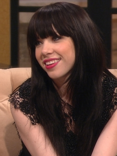 Carly Rae Jepsen visits Access Hollywood Live on February 8, 2013