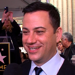 Jimmy Kimmel Gets His Star On The Hollywood Walk Of Fame