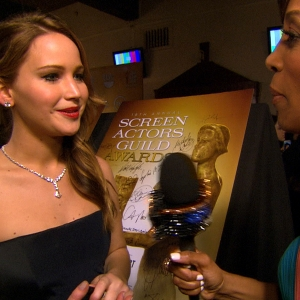 SAG Awards 2013: Jennifer Lawrence Wins!