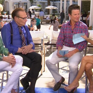 Larry King Talks His First Time On TV, Quitting Smoking & His Ultimate Interview