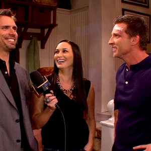 Steve Burton & Joshua Morrow Talk On-Screen Rivalry On The Young & The Restless